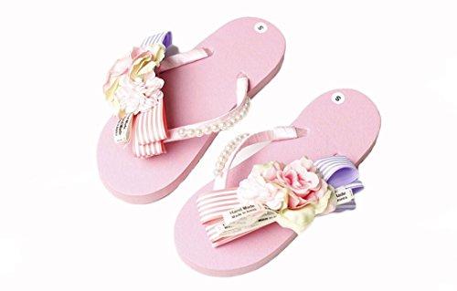 beauqueen-infradito-thongs-rosa-fatta-a-mano-cucito-perline-papillon-fiori-pantofole-dei-sandali-don