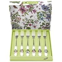 Portmerion Set di 6 forchette da tè Botanic Garden, rif. BG1102