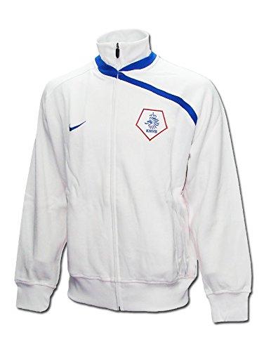 Nike - Holanda Chaqueta EURO08 Hombre Color: Blanco Talla: XL