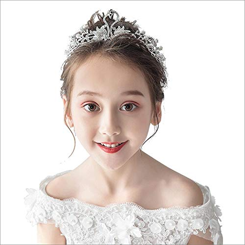inzessin Crystal Crown Kids Geburtstagsparty Rhinestone Headband ()
