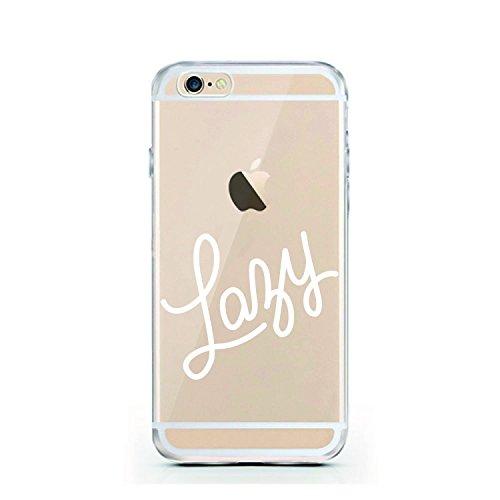 iPhone 6 Hülle von licaso® für das Apple iPhone 6 & 6S aus TPU Silikon Poly Heart Herz 3D Art Muster ultra-dünn schützt Dein iPhone 6 & ist stylisch Schutzhülle Bumper in einem (iPhone 6 6S, Poly Hear Lazy