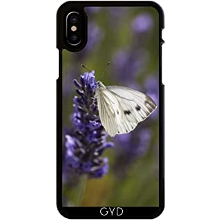 DesignedByIndependentArtists Case for Iphone X - White butterfly on lavender by UtArt