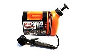 Mud Daddy 99000DS1Orange - Spazzola per Lavaggio Fango Portatile, 5 l, Colore: Arancione