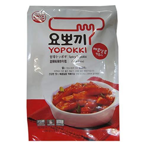 Yopokki Korean Rice Cake with Hot Sauce 280G