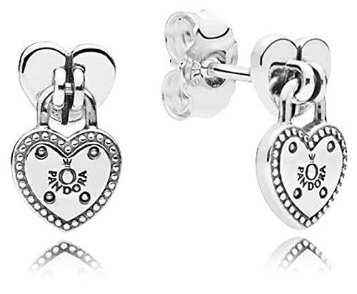 Pandora orecchini a perno donna argento - 296575