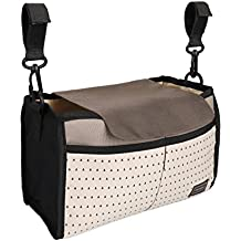 Nexlook Sacoche pour poussette bébé Organiseur Carriage Pram Cart Mummy Sacs à nouilles pour bébés Bouteille à