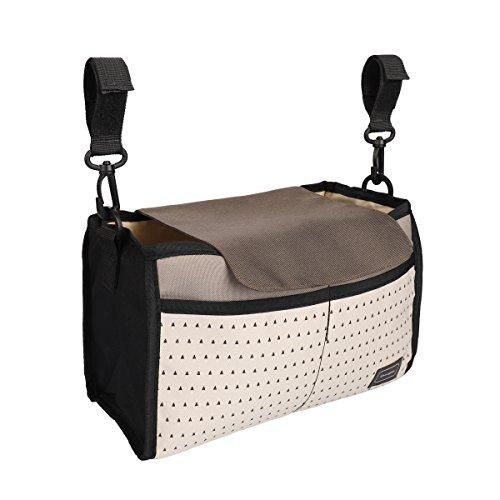 Nexlook Spaziergänger Organizer Taschen Wagen Pram Cart Save Mama Infant Windel Taschen Wasser Flasche Windel Tasche mit Cup Halter für - Organizer Baby-windel-tasche