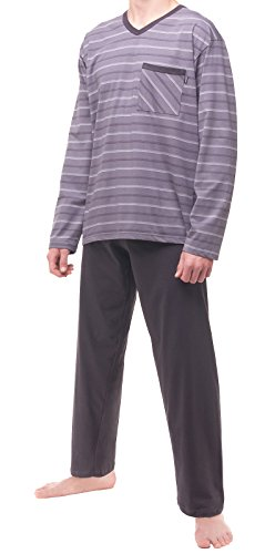 Cornette Herren Schlafanzug Modell: 137 Grau