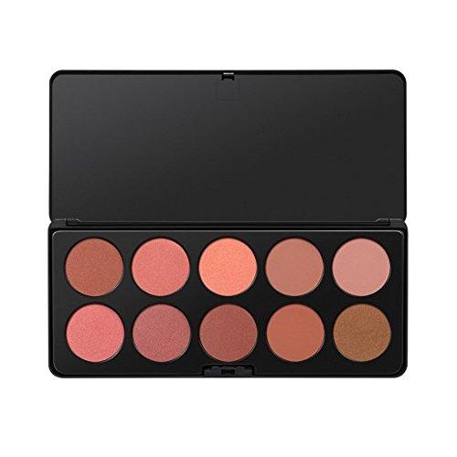 Nude Blush - 10 Farben Rouge Palette von BH Cosmetics