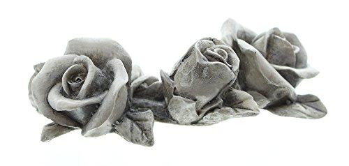 """Deko-Blüten """"Stein-Rosen"""" im 4er Set"""