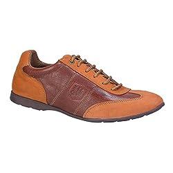 Woods Mens Tan Formal Shoes - 7 UK/India (41 EU)(WGF 1838115)