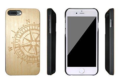 SunSmart iPhone 7 Plus bois Housse iPhone 7 Plus bois étuis pour iPhone 7 Plus 5.5'' -19 IP7+5.5''-17