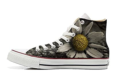Converse All Star personalisierte Schuhe - Handmade Shoes - Multi face
