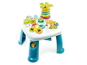 Smoby- Mesa electrónica de Actividades, Color Azul (Simba Toys 211169)
