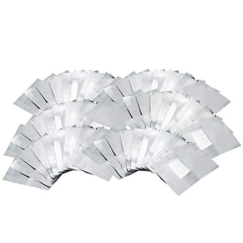Limeo Foil per Smalto per Unghie Rimozione di Smalti per Unghie Wraps di Rimozione Remover per Unghie Remover Pads gel Polish Remover Soak off Polish Nail Art Soak Off Remover (100 in totale)