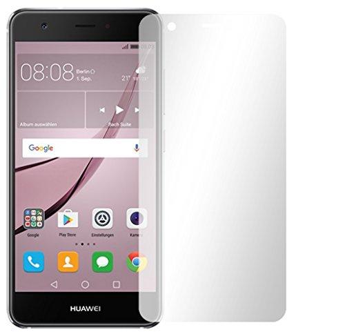 2 x Slabo Displayfolie für Huawei Nova Displayschutzfolie Zubehör (verkleinerte Folien, aufgrund der Wölbung des Displays)