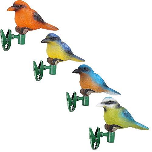4 Teile/Satz Solar Recyclebar Vogel Im Freien Wasserdichte Garten Licht