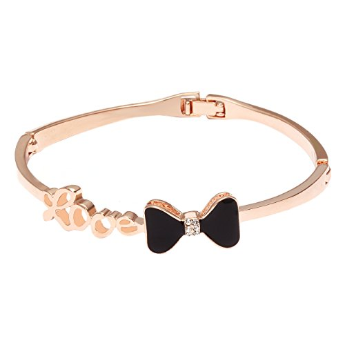 city-ounar-elementos-de-swarovski-18k-rose-gold-plateado-negro-bowknot-encanto-pulsera-brazalete-de-
