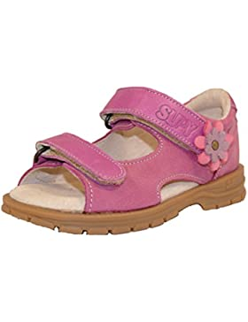 [Sponsorizzato]SUPY Supykids Mimi MI304 Malva con I Fiori Ragazze bambini Scarpi Sandali Supinazione Prevenzione Piede Piatto