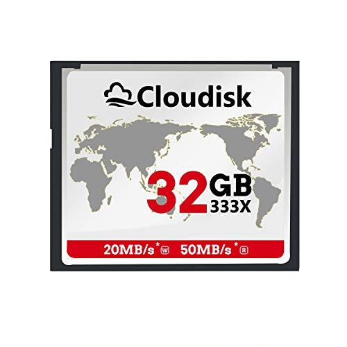 Cloudisk CF-Karte Compact Flash-Speicherkarte Leistung für Fotokameras