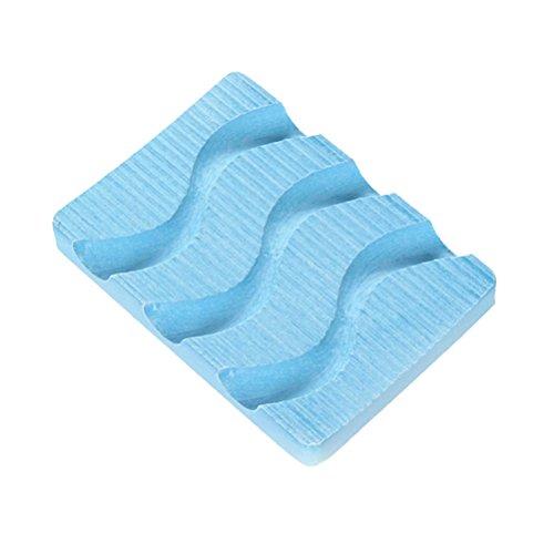 YeahiBaby Seifenschale Kieselgur Rutschfest Seifenhalter FeuchtigkeitsaufnahmeTrocken Schimmelfest (Zufällige Farbe) (Antibakterielle Deodorant Seife)