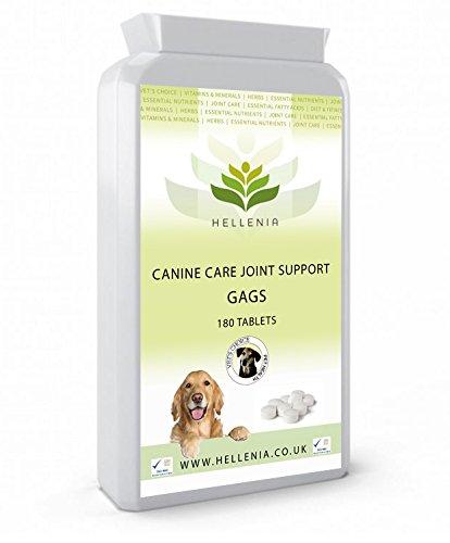 GAGS 425mg - 180 Tabletten - (Glucosamin, Chondroitin und MSM für Hunde)