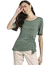 DJ&C By fbb Women's Polka dot Regular fit T-Shirt