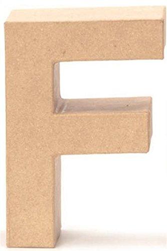 Papp-Buchstabe F 17,5x5,5cm