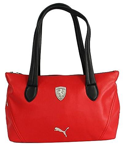 Puma Ferrari PU Red Womens Hand Bag (072240 02 D1)