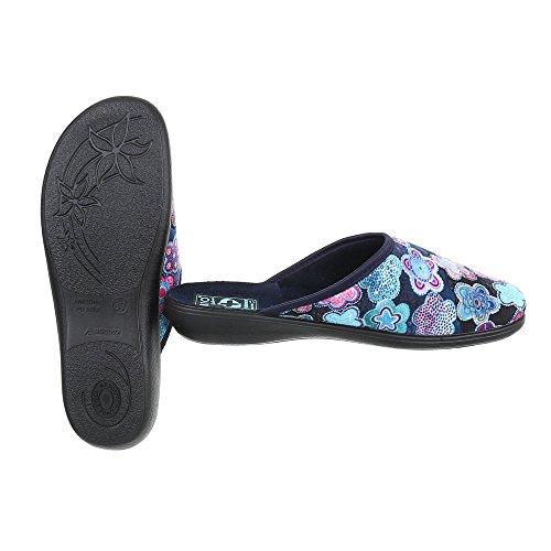 Donna Ital Sulla Blau Design 22348 Caviglia Multi Aperte qg8wS