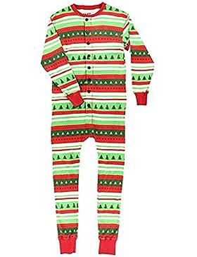 Hzjundasi Flapjacks Onesie Conjunto de Pijamas Familiares de Navidad - Adulto Niños y Infante PJs Xmas Vacaciones...