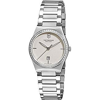 Victorinox 241521 – Reloj de pulsera Mujer, acero inoxidable, color Plata