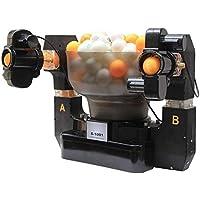 MYHXC Ping-Pong Robot con 100 Giro Diferente Tenis de Mesa Robots Máquina automática de la Bola for la Formación