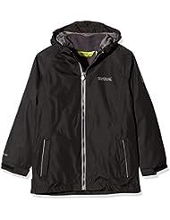 eb0a6f0b7c7 Regatta Luca IV 3 in 1 Waterproof Hooded with Zip-out Fleece Chaqueta,  Infantil