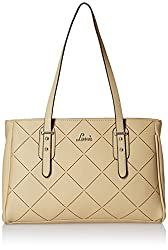 Lavie Preili Womens Handbag (Beige)