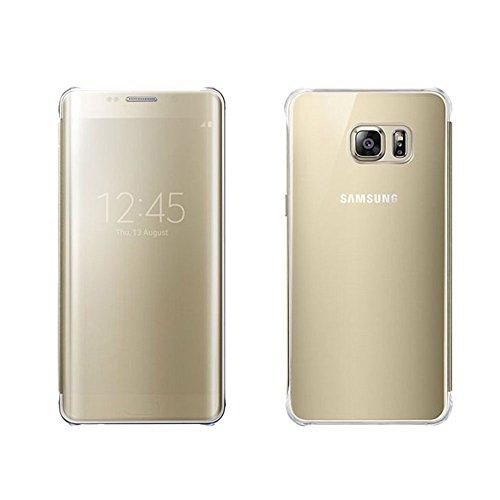 Samsung ef-zg928cfegww custodia per galaxy s6 edge plus, oro