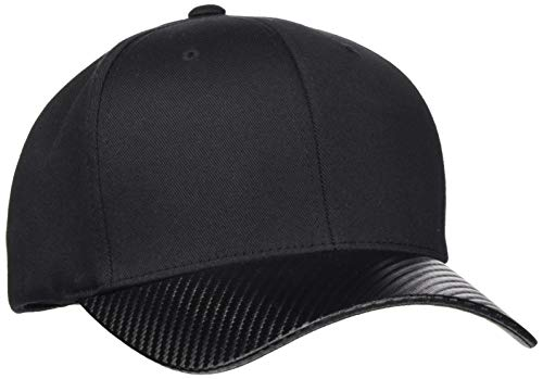 Flexfit Baseball Cap, Black/Carbon, L/XL