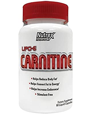 Lipo-6 Carnitine - 60 caps by Nutrex M