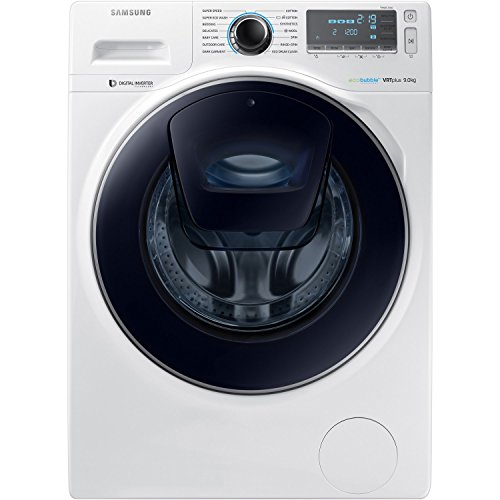 Samsung AddWash A+++ WW90K7615OW/EU 9kg 1600 Spin Washing Machine in White