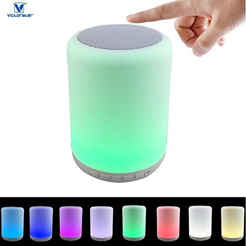 Lampada da comodino VICTORSTAR con Bluetooth 4.0