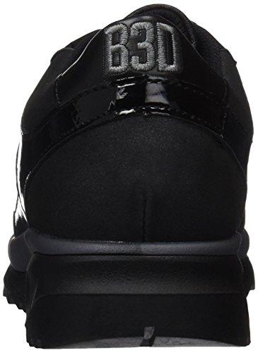 bass3d 041350, Sneaker Basse Donna Nero