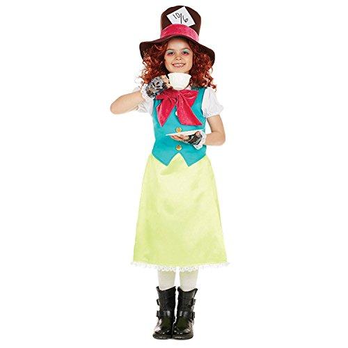 Kostüm - XL - 148cm - Alter 10-12 (Miss Mad Hatter)