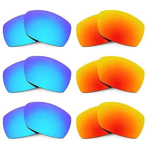 Revant Ersatzlinsen für Smith Dockside Polarisiert 6 Paar Kombipack K029