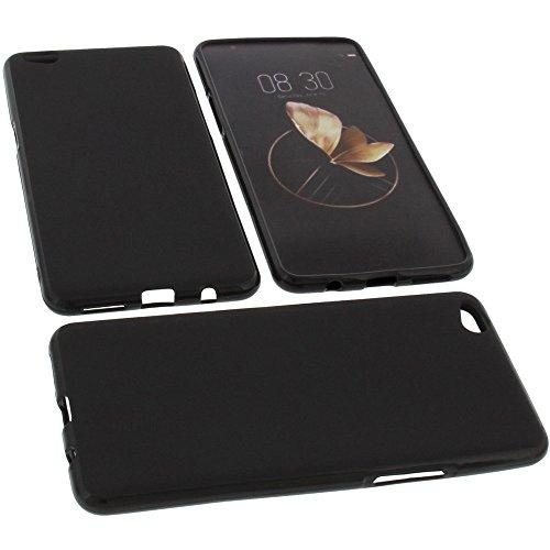 foto-kontor Tasche für Archos Diamond Gamma Gummi TPU Schutz Handytasche schwarz