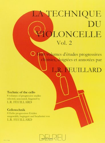 Technique du violoncelle Volume 2