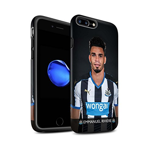 Offiziell Newcastle United FC Hülle / Matte Harten Stoßfest Case für Apple iPhone 7 Plus / Ayoze Muster / NUFC Fussballspieler 15/16 Kollektion Rivière