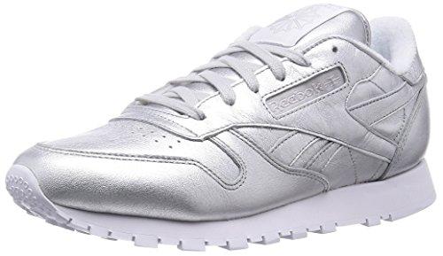 reebok-cl-lthr-spirit-zapatillas-de-running-mujer-plateado-blanco-42-1-2