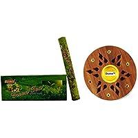 DivineTM Räucherstäbchenhalter frei mit Tridev grün Tee Duft Räucherstäbchen Agarbatti 120Gramm Box | 6Hex 20... preisvergleich bei billige-tabletten.eu
