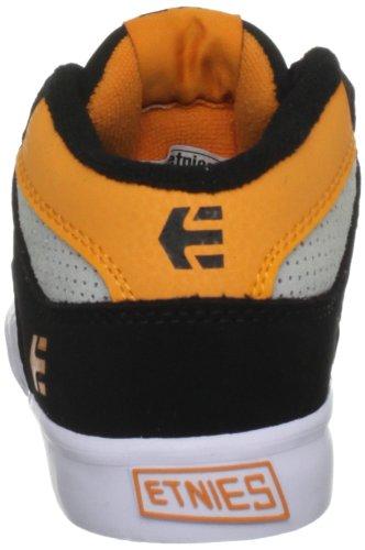 Etnies Kids Rvm Vulc, Chaussures de skate garçon Black/Black/Orange