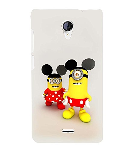 printtech Minion Mickey Minnie Mouse Back Case Cover for Micromax Canvas Unite 2 A106 /Micromax A106 Unite 2
